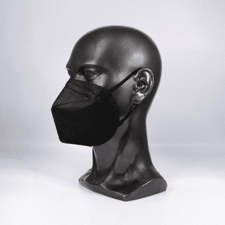 Respirator mask FFP2 NR foldable without exhalation valve black