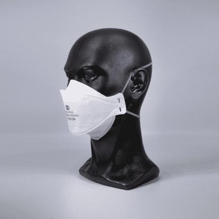 FFP2 breathing mask without valve