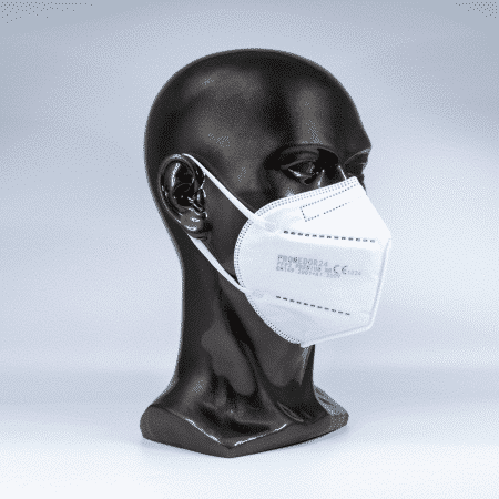 "Promedor Atemschutzmaske ""PRM 2403"" FFP2 NR faltbar ohne Ausatemventil"